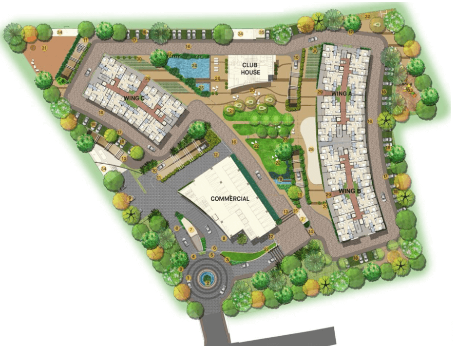 Ajmera Nucleus - Residential Projects Master Plan